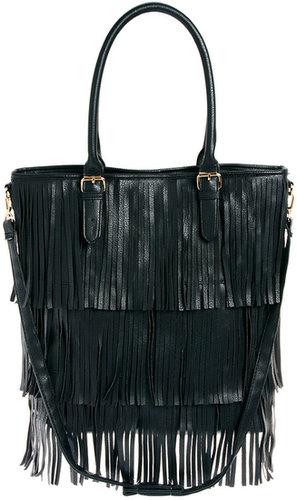 New Look – Talia – Tasche mit Fransen