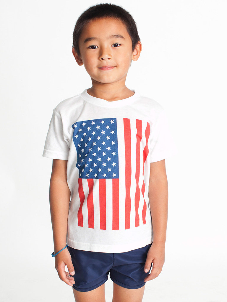 No one does a basic cotton tee ($13) quite like American Apparel . . .
