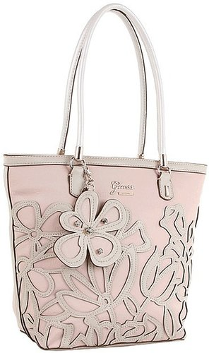 GUESS - Floren Small Carryall (Rose Multi) - Bags and Luggage