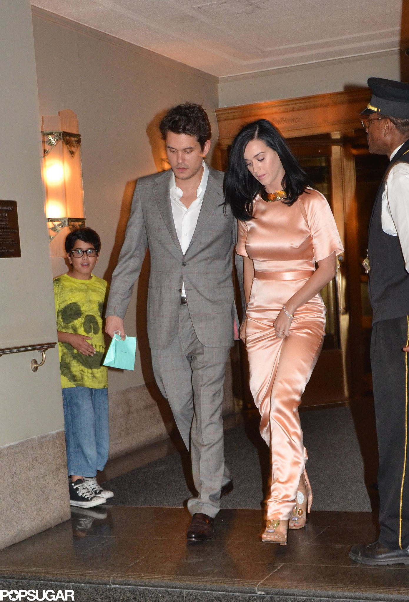 John Mayer and Katy Perry were together in NYC.