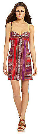 Dolce Vita Amy Cutout Tribal-Print Dress