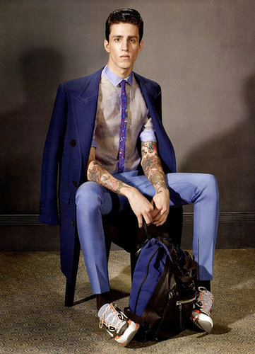 Lanvin Homme Fall 2013