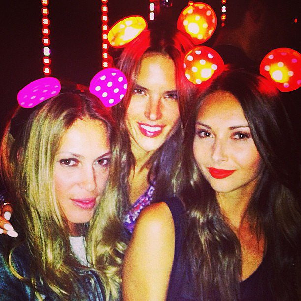 Alessandra Ambrosio had a night out in LA with her friends in June.  Source: Instagram user alessandraambrosio