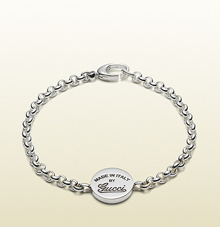 Bracelet With Vintage Gucci Trademark Engraving