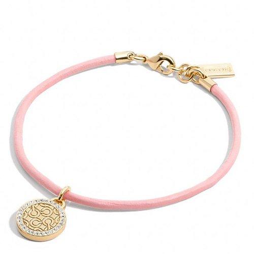 Pave Op Art Cord Bracelet