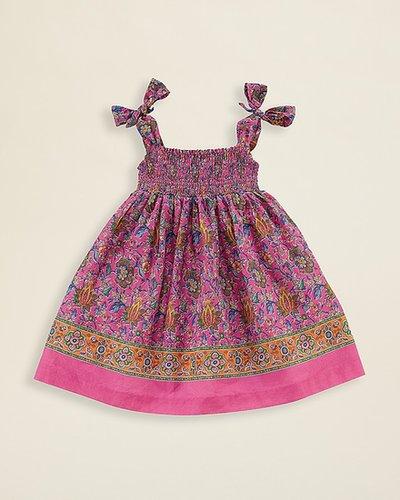 Ralph Lauren Childrenswear Infant Girls' Paisley Dress - Sizes 9-24 Months