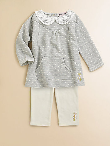 Juicy Couture Infant's Dotted Tunic & Leggings Set