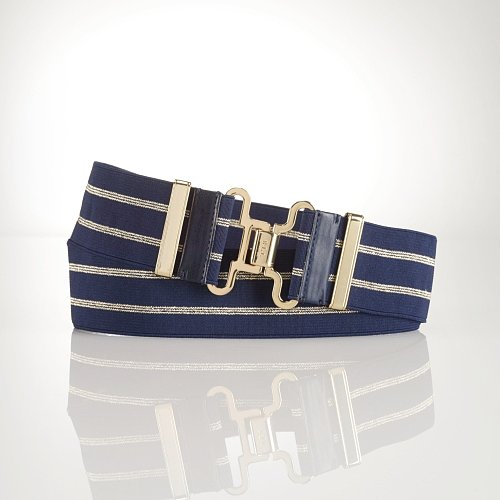 Ralph Lauren Nautical Gold-Hardware Belt