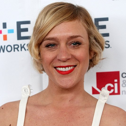 Chloe Sevigny Orange Lipstick