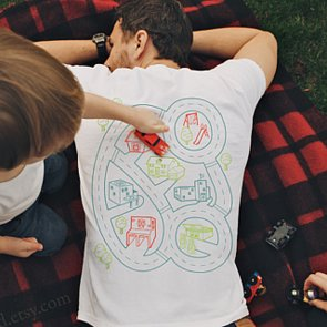 Car Play Mat T-Shirt