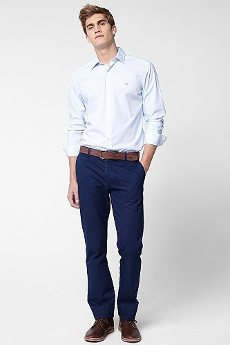 Slim Fit Indigo Chino