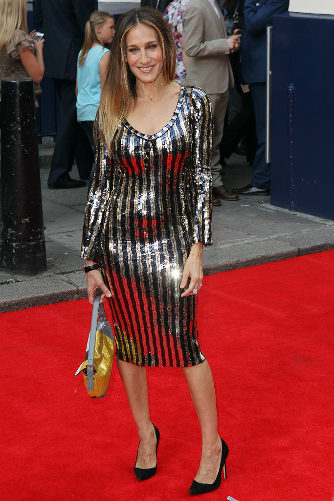 Sarah Jessica Parker at the press night for the theatrical production Charlie and the Chocolate Factory in London.