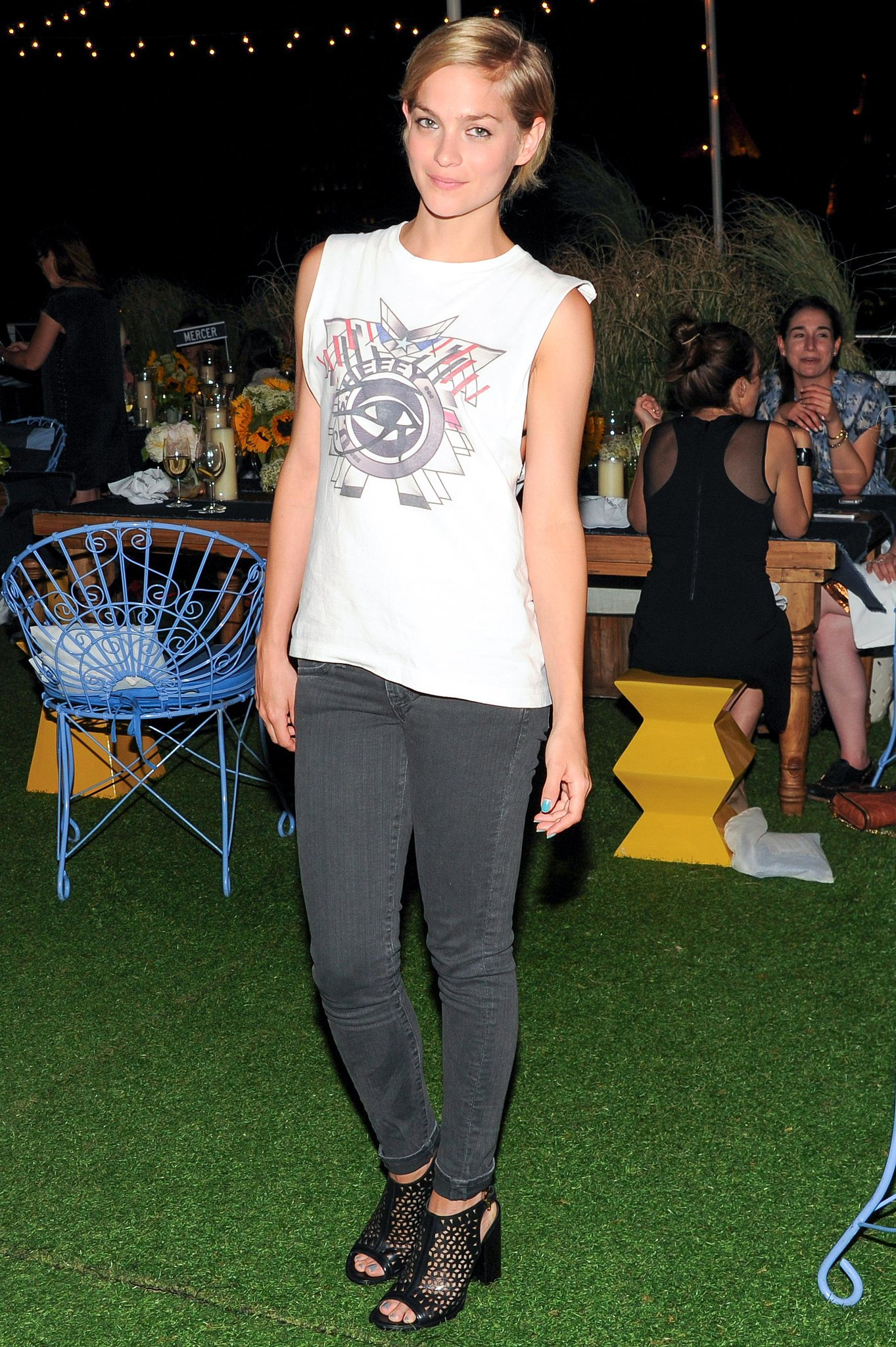 Leigh Lezark at the Rebecca Minkoff dinner for the label's collection in New York. Source: Billy Farrell/BFAnyc.com