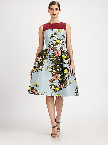 Carolina Herrera Rose-Print Dress