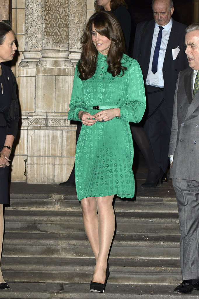 Kate Middleton debuted her short-lived bangs during a trip to London's National History Museum in November 2012.