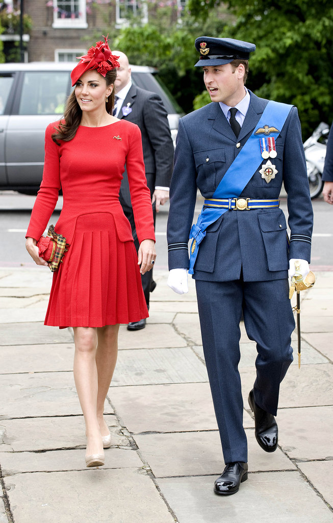 Kate Middleton and Prince William stepped out for the Diamond Jubilee pageant on the Thames River in June 2012.