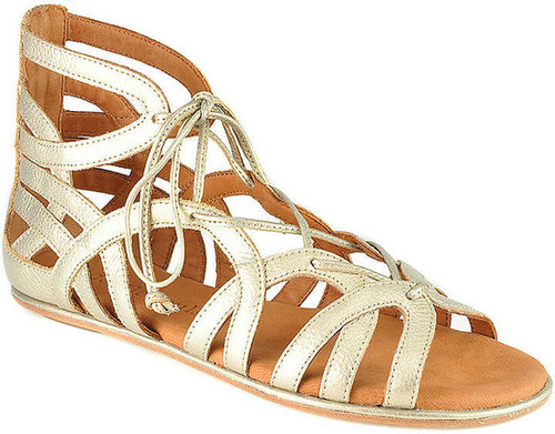 GENTLE SOULS Break My Heart Lace-Up Sandals