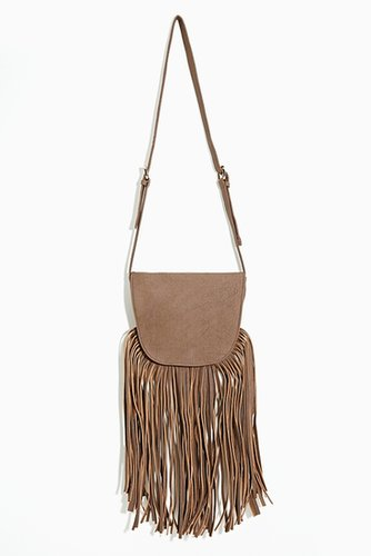 Outlaw Fringe Bag - Brown