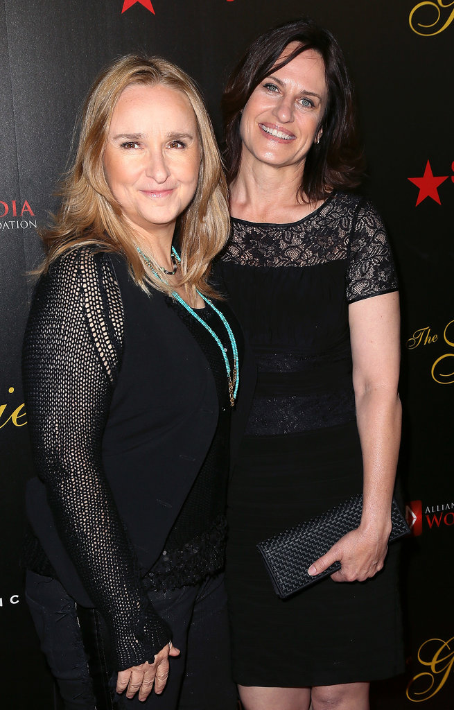 Melissa Etheridge and Linda Wallem