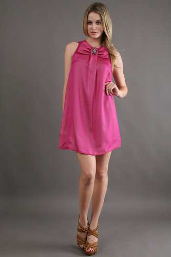Karen ZAMBOS Twiggy Dress in Fuschia