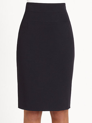 Akris Punto Stretch Knit Pencil Skirt