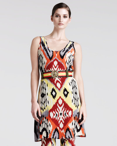 Altuzarra Bushbuck Ikat-Print Tunic-Top-Dress