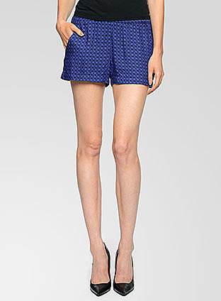 Izabella Print Shorts