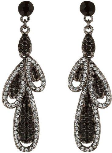 Mikey Oval drop earrings