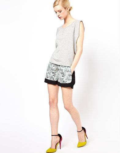 Emma Cook Sporty 2 Tone Shorts