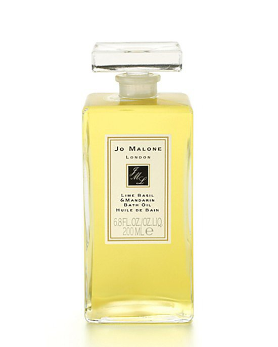 Jo Malone's Lime Basil and Mandarin Bath Oil ($100) offers Mama an indulgent escape.