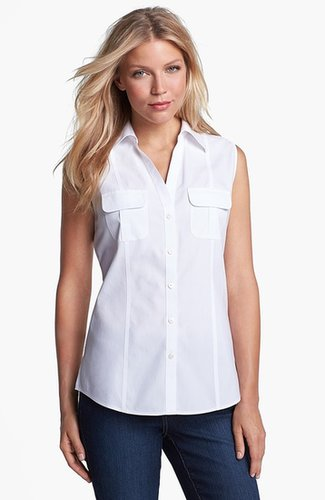 Foxcroft Sleeveless Shirt