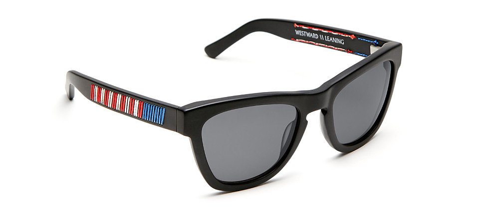 Westward Leaning's universally face-flattering shades ($275) are here to party, Independence Day-style.