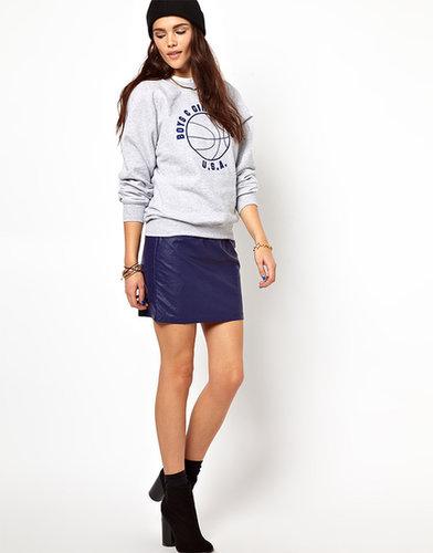 Glamorous PU Mini Skirt