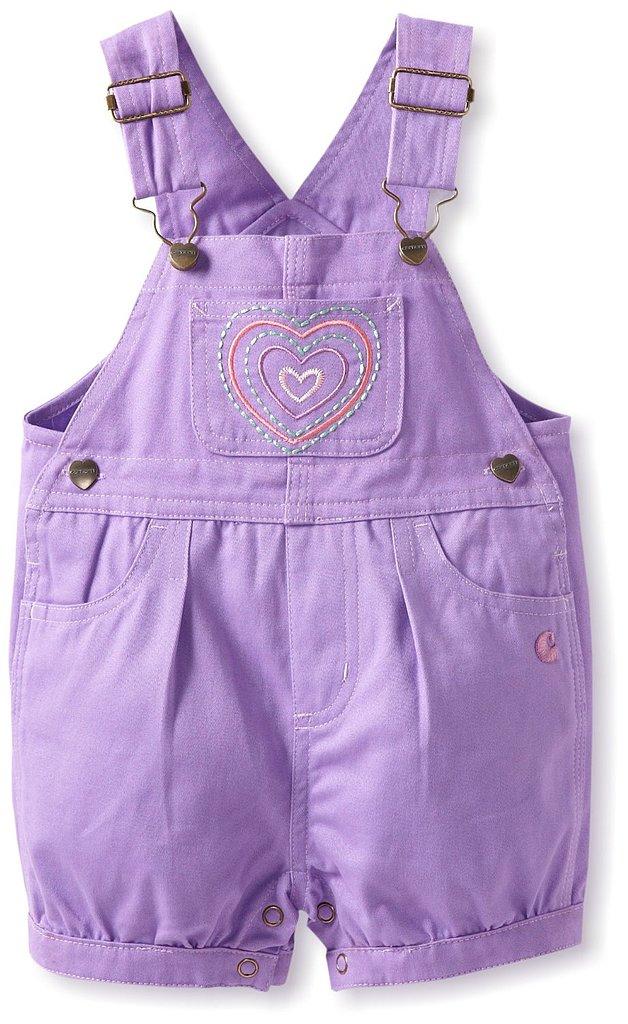 Carhartt Girls Infant Twill Shortalls