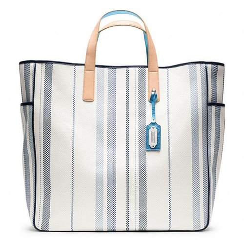 Legacy Weekend Beach Editorial Woven Parrish Tote