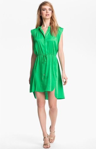Vince Camuto Front Tie Shirtdress