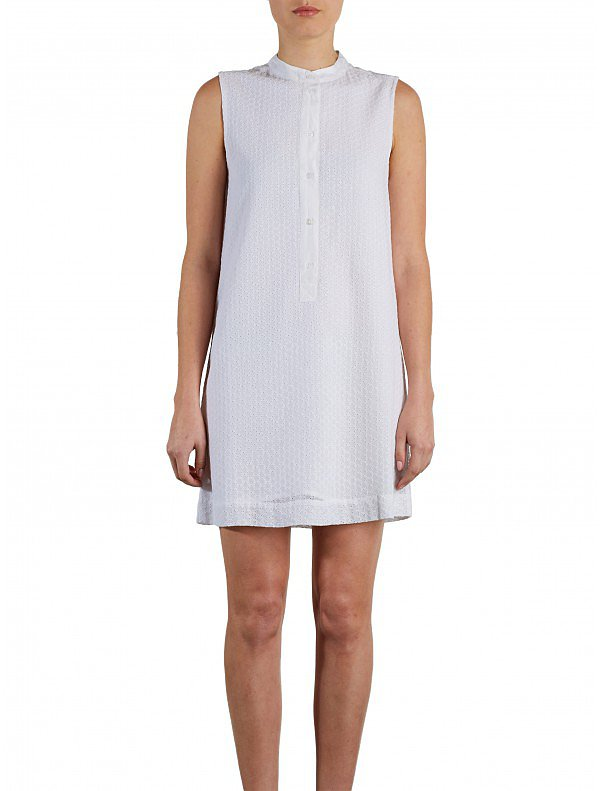 Simply put: I can't resist a shirtdress for summer (see: my closet). It doesn't get easier or more chic than Equipment's eyelet button-down ($328), and with the US Open coming up next month, my courtside style's ready to play! — RM