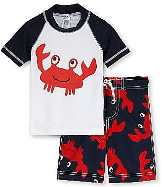 Carter's® 2-pc. Rashguard Swim Set - Boys 3m-9m