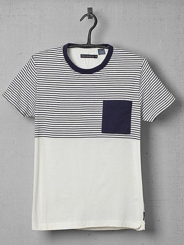 French Connection Strategy Striped Tee Shirt