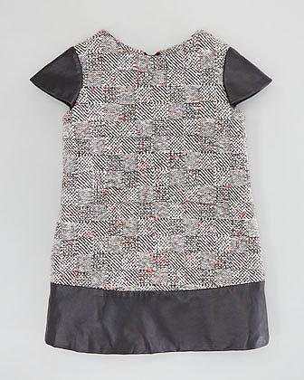 Milly Minis Rachel Combo Shift Dress, Multi, Sizes 2-6