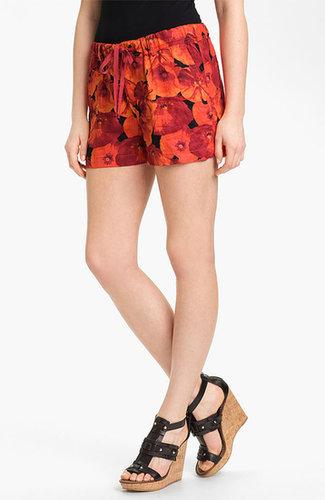 Caslon Drawstring Linen Shorts