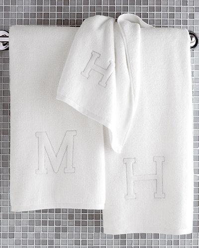 "Matouk ""Auberge"" Monogrammed Bath Towels"