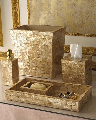 Capiz Bathroom Accessories