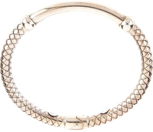 Bottega Veneta engraved bangle