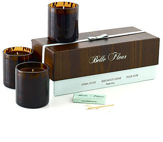 Belle Fleur Exotic Wood Petite Trio