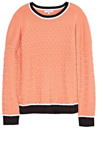Preorder Opening Ceremony Crane Stitch Oversized Crewneck In Blush