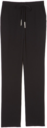Preorder Opening Ceremony Siege Crepe Pants In Black