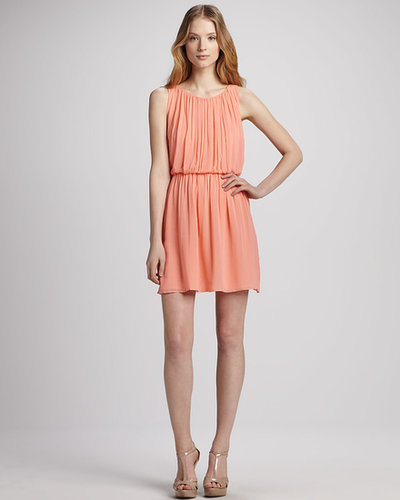 Alice + Olivia Mary Blouson Tank Dress