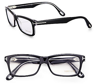 Tom Ford Eyewear Rectangular Plastic Eyeglasses