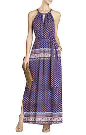 BCBGMAXAZRIA's Mia Printed Maxi Dress